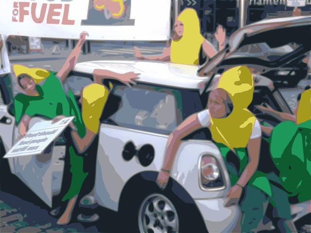Biofuel Protest